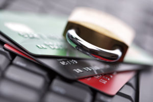 lost credit cards being picked up and identity being stolen from