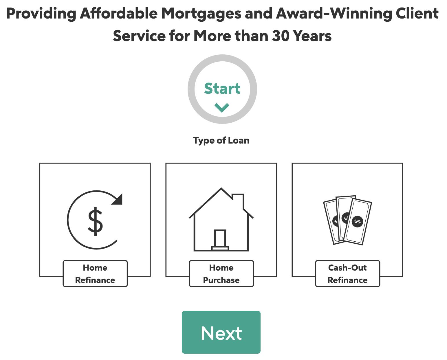 rocket mortgage online application