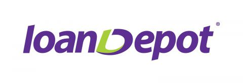 loanDepot mortgage financing logo