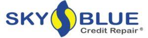 sky blue credit repair company logo